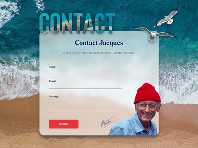 UI Challenge 026 Contact Us