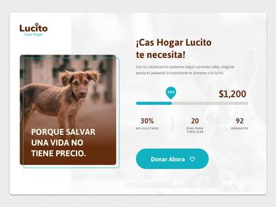 UI Challenge 032 Crowdfunding