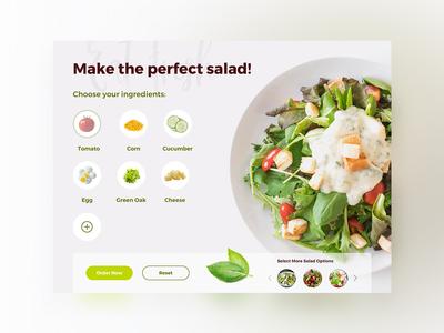 UI Challenge 033 Customize Product