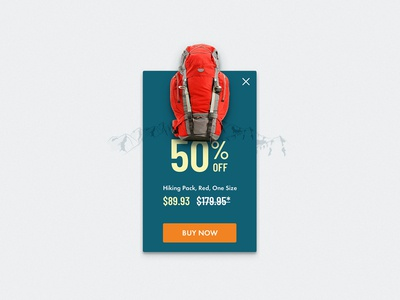 UI Challenge 036 Special Offer