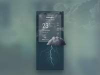 UI Challenge 037 Weather