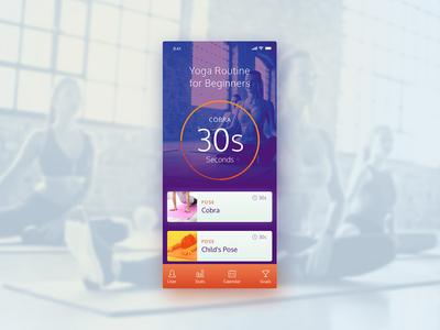 UI Challenge 041 Workout Tracker
