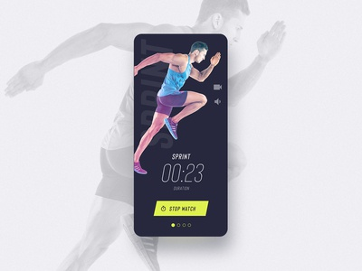 UI Challenge 062 Workout of the Day