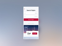 UI Challenge 068 Flight Search