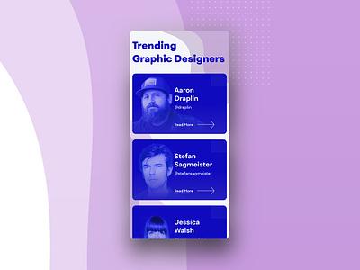 UI Challenge 069 Trending ui challenge ui  ux ui 100day ui ui  ux design uidesign trending