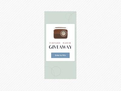 UI Challenge 097 Giveaway