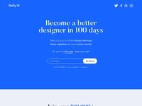 Ui challenge 100  dailyui redesign