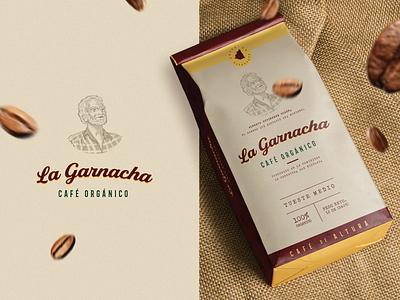 Weekly Warm-Up: Week 08 Coffee Package challenge nicaragua organic food organic traditional vintage logo illustration package dribbleweeklywarmup coffee