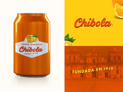 Chibola nicaragua vintage design vintage badge vintage logo food and drink label packaging label design label soda can soda weekly challenge weekly warm-up weeklywarmup
