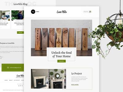 Lovenilo redesign house interior design ui  ux ui ui  ux design uidesign ecommerce design ecommerce