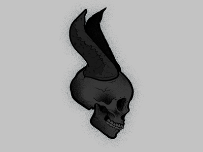 Maleficent Skully illustration maleficent vector skull art skull