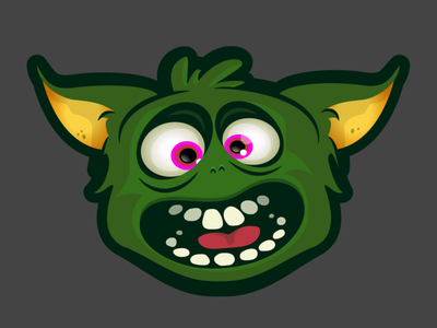 Gremlinz! vector illustration vector gremlin