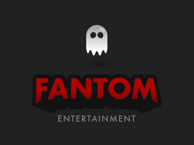 FANTOM logo design brandmark brand illustration vectorart logodesign branding ghost phantom vector logo
