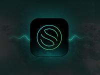 Smart song music app - brandmark concept