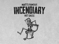 """Incendiary"" Hot Sauce Branding"