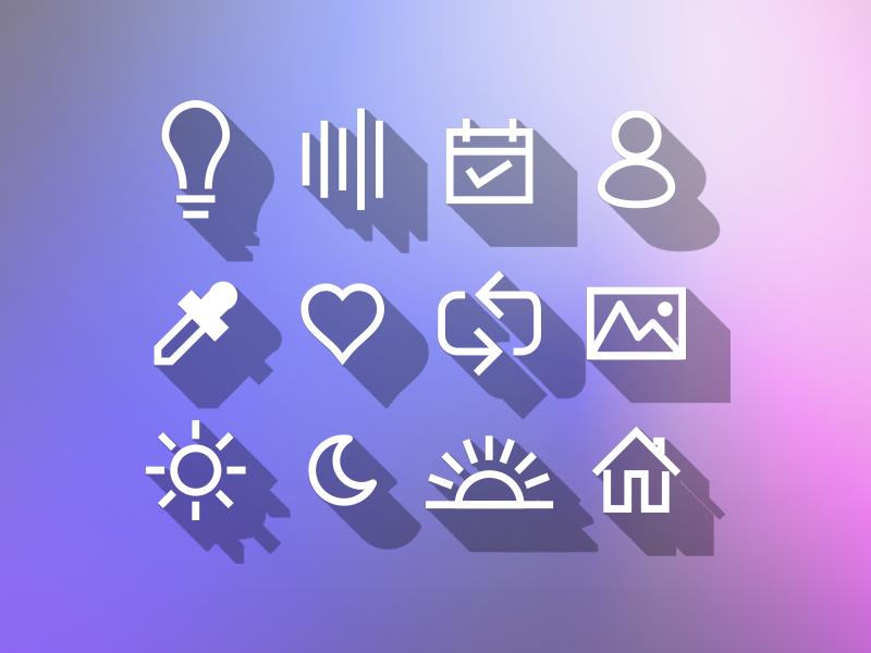 Custom Icon Fam icon set icon family illustration iconography vector icon