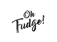 """Oh Fudge"" Branding / Logo"