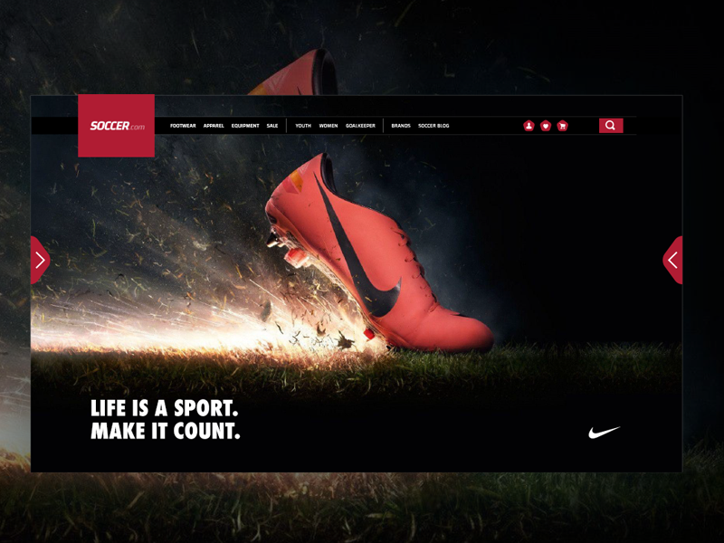 Website Navigation Concept Demo by Jay Moore on Dribbble
