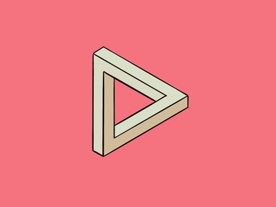 Penrose triangle procreate apple pencil ipad pro