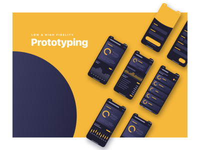 Prototyping app UI UX