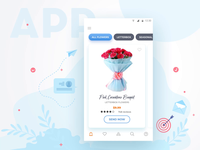Flower delivery application