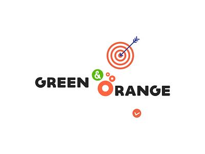 Logo designs for health care & eco brand brand health eco orange green typography branding logo illustration clean inspiration inspiraldesign designinspiration ui