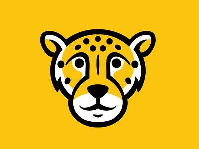 Kaiser Elementary Cheetahs sports mark icon illustration kaiser cheetah denver identity logo kids school elementary athletics cheetahs