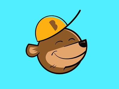 Bromwell Elementary Bears icon identity denver bromwell bears bear kids sports athletics illustration logo mascot school elementary