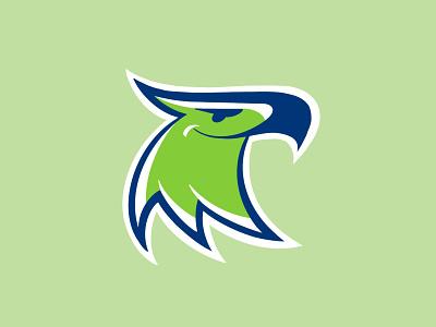 McKinley Thatcher Elementary Eagles procreate identity sports athletics branding kids design illustration icon logo eagle eagles mascot school elementary
