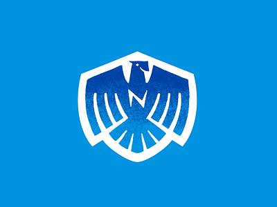 Newlon Elementary Eagles procreate illustration identity logo badge newlon eagles eagle mascot school elementary