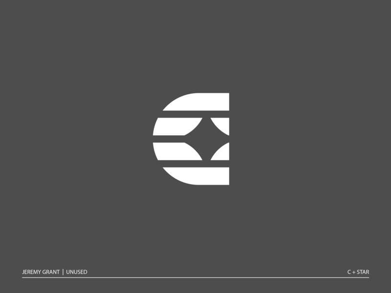 C star monogram brand identity symbol icon mark logo star monogram c