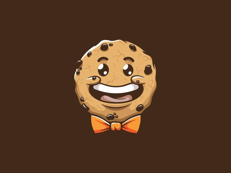Cookie Man hand drawn vector illustration handmade cartoon mascot character boy man cookie cute