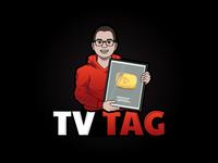 TV TAG Logo Illustration