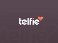 telfie logo design