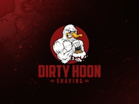 Dirty Hoon Shaving logo design