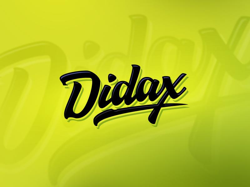 Didax Logo Design brand design guitar classy clasic retro logodesign typeface vector logo