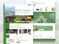 Tea Leaves - Landing Page