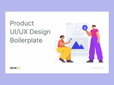 Product UI/UX Design Boilerplate accessibility webapp mobile interaction design ux ui product design product boilderplate figma