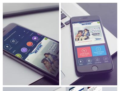 CTM mobile app mobile app iphone ui design app sketch agile design ux ui mobile mobile app design