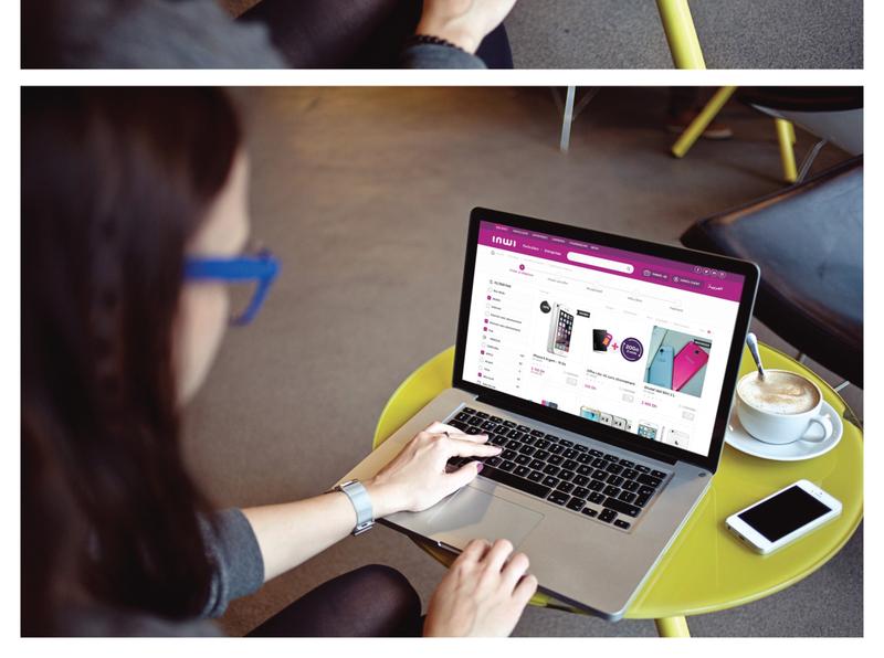 boutique.inwi.ma shop ecommerce ui design agile sketch mobile design ui ux