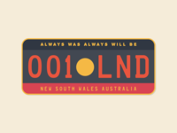Aboriginal License Plate