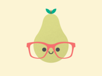 Cute Kawaii Pear