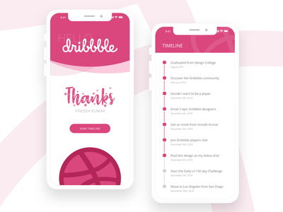 Hello Dribbble! My debut shot, let's go! new welcome hello app thanks debut uidesign ui-kit ux mobile app desin mobile design