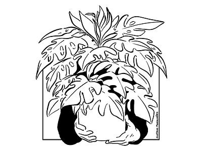 Vaso Tote Bag merch design editorial illustration illustration editorial nature plant freak plant tote bag merch