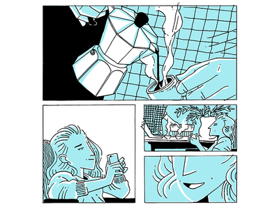 UDM 02 editorial illustration editorial illustration comic art comic comics