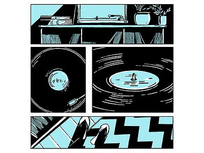 UDM 03 editorial illustration editorial illustration comic art comics comic
