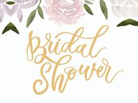 bridal shower invitation