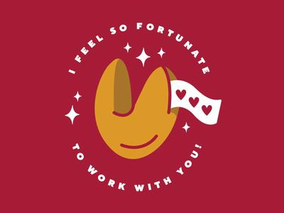 teacher appreciation graphic #2 gold red teacher appreciation teacher appreciation fortune cookie fortunate fortune illustrator branding vector illustration