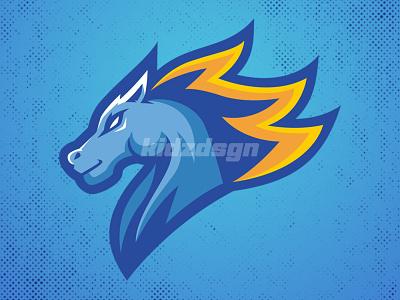 Horse Mascot Logo champion mascot basketball logo mascot esport gaming logo esport logo design logo sport logo