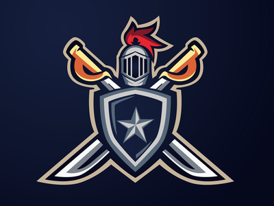 Shield Warrior (Logo Forsale) illustrator warrior shield logo sport logo design logo